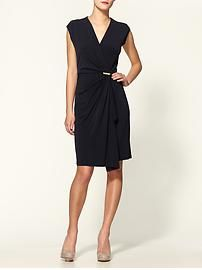 MICHAEL Michael Kors cap sleeve dress with pin via Piperlime