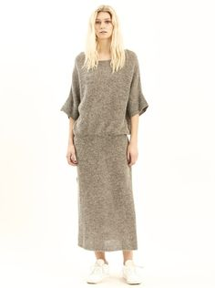 Aster Knitted Dress – Maison Mae