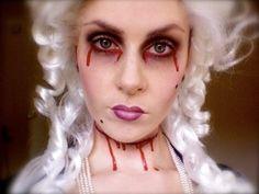 Zombie, Ghost, or Vampire? Marie Antoinette Halloween Costumes