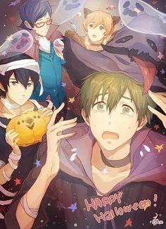 Free! Iwatobi Swim Club Halloween anime