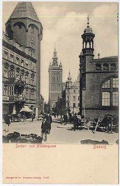 Znalezione obrazy dla zapytania Reitbahnstrasse danzig