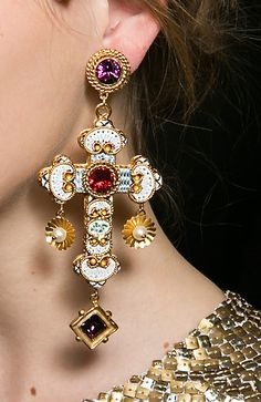 Dolce & Gabbana They look heavy but totally gorgeous!!