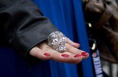 mcqueen skull ring