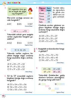 2. Sınıf Soru Bankası Matematik Süper Kitap Bullet Journal, Education, Math, Words, School, Youtube, Math Resources, Onderwijs, Learning