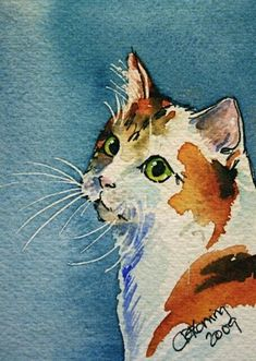 * #CatWatercolor