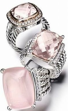 David Yurman #rings ~ Colette Le #jewelry#2015 Mason @}-,-;---