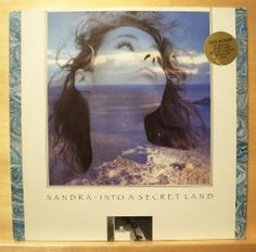 SANDRA - Into a secret Land - Italo Disco Pop - Vinyl LP - Michael Cretu Top Rar