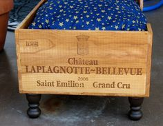 Upcycled Wine Box Pet Bed by SammysBackyardCraft, $55.00