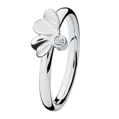 Spinning Jewelry Me And You Diamond Stackable Ring 200209, Spinning Silver Diamond Rings, Spinning Jewelry | JewelFirst online jewellery store