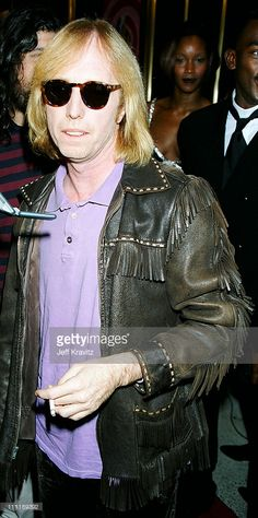 Tom Petty during 1995 MTV Video Music Awards Show at Radio City Music Hall in New York City, New York, United States.