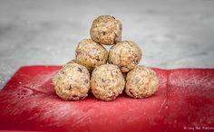 Easily Veganized Gluten Free Peanut Butter Chocolate Chip Cookie Dough Balls | Long Haul Trekkers | #glutenfree #camprecipe #campfood