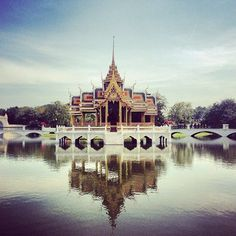 """The Most Amazing Places We've Ever Been — In The Entire World #refinery29  http://www.refinery29.com/most-beautiful-places-in-the-world#slide-7  Grand Palace, Bangkok, Thailand """"Thailand is the trip of a lifetime — and I was lucky enough to take it with my family during the holidays. There were too many highlights to count, but this snap of perhaps my favorite place on earth is easily number one on my list. The Grand Palace, although a trafficked tourist destination, was serene and magically…"""