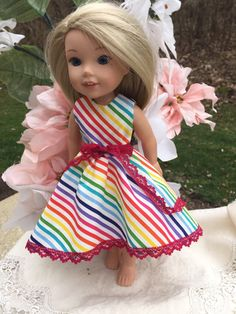 Cute Pink Jumpsuit Fits for 14.5in Doll Dress Up Accessories