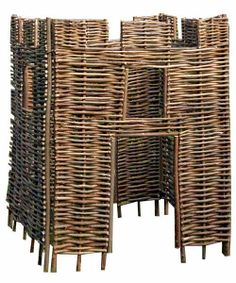 Hazel Castle - This amazing castle made from hazel is eco-friendly and very robust plus lots of fun for budding young knights. It also looks great and makes a fun garden feature. http://www.tinderandtide.co.uk/product.php?cid=47&pid=3270