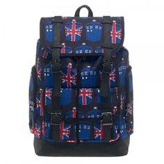 doctor who jack tardis large size rucksack knapsack lapto https