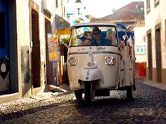 Tukxi Tours is a new and exciting way to discover the charms and beauties of Funchal, built upon ecological and inovative criteria, directly inspired by the italian Dolce Vita glamourous style and the iconic three wheeled Ape Calessino. Tukxi offer those who visit Funchal an exclusive perspective along with an intimate aproach to our history #Sightseeing #tour #eco #city #funchal #madeira