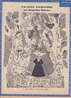 画像 : 【仏】「月のオペラ」挿絵画家 ジャクリーヌ・デュエームさんの夢見るような絵がすてき! - NAVER まとめ Vintage World Maps, Illustrations, Artists, Board, Illustration, Artist, Illustrators