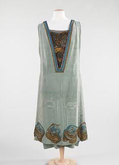 Evening dress, Martial & Armand, 1924.