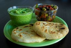 My husband was the one who first introduced me to arepas--white corn cakes popular in Colombia and Venezuela. They are salty and mild, with a crispy exterior, and chewy, tender interior. They are a...