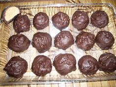 Easy Chocolate Peanut Butter Ball Recipe