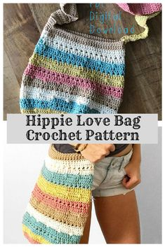 CROCHET HIPPIE BAG