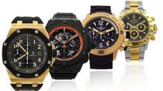 Leilão tem relógio de luxo de mais de R$20.000 com lance atual de R$1.900