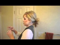 How to wear a messy ponytail    For more details see this post: http://www.thesmallthingsblog.com/2011/10/messy-ponytailbun.html    Blog: The Small Things Blog http://www.thesmallthingsblog.com   Tweet me! K8_SmallThings