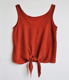 Simple Red Tank