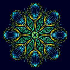 Amen ! Mandala de Pierre Vermersch Digital Drawings
