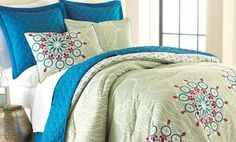 Groupon - 6-Piece Comforter and Coverlet Sets. Multiple Styles Available. Free Returns. in Online Deal. Groupon deal price: $59.99