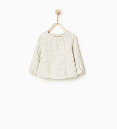 Camisa bordados-CAMISAS-Bebé niña-Bebé | 3 meses-3 años-NIÑOS | ZARA España