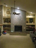 Modern Fireplaces Ideas...this would be very cool