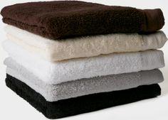 Wellness håndklæder farver