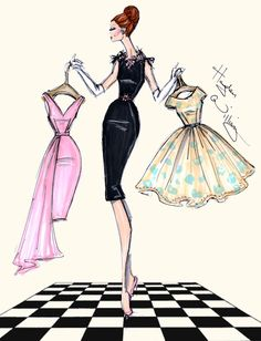 Hayden Williams Fashion Illustrations                                                                                                                                                     More