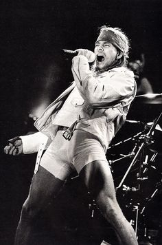 Axl live in Colorado, 1991