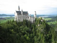 neuschwanstein castle - southern germany - drive from austria to the castle is unforgettably beautiful