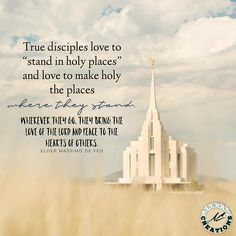 Spiritual Crusade: 5 Great quotes about Pure Love: The True Sign of Every True Disciple of Jesus Christ by Elder Massimo De Feo Temple Quotes Lds, Church Quotes, Lds Quotes, Uplifting Quotes, Religious Quotes, Spiritual Quotes, Great Quotes, Gospel Quotes, Inspirational Quotes