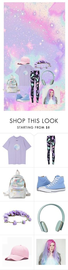 """""""Unicorns :D"""" by thatcrybabytho on Polyvore featuring Charlotte Russe, Converse, Forever 21 and Zimmermann"""