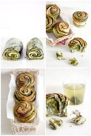 Foodagraphy. By Chelle.: Matcha brioches