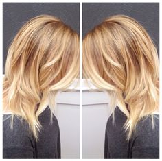Warm, bright, and beautiful blonde!!! Hair by @ellaschair                                                                                                                                                      Mehr