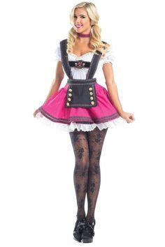 Be Wicked BW849 Sassy Maid Costume