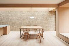 "dezeen: "" Erbar Mattes adds pale brick extension to Edwardian house in north London Minimalist Home Decor, Minimalist Interior, Minimalist House, Interior Exterior, Interior Architecture, Edwardian Haus, Brick Extension, Glass Extension, Journal Du Design"