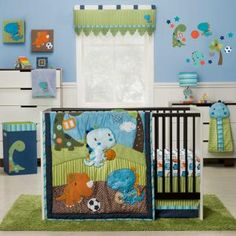 Babies Dinosaur Crib Bedding