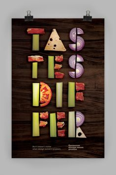 Typo Posters by Vlad Likh | InspireFirst                                                                                                                                                                                 More