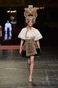 Défilé Dolce & Gabbana Alta Moda Haute Couture printemps-été 2016 80