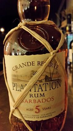 Rum Plantation Grande Réserve 5 ans Barbade