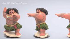 Maui: Disney Infinity, B Allen on ArtStation at…