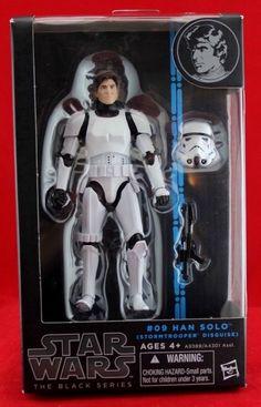 "Han Solo Stormtrooper Disguise Star Wars The Black Series 6"" Action Figure NIB #Hasbro"