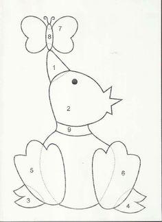 plantilla pato