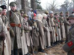 Russian Civil War reenactment in Gatchina - Armchair General and HistoryNet >> The Best Forums in History